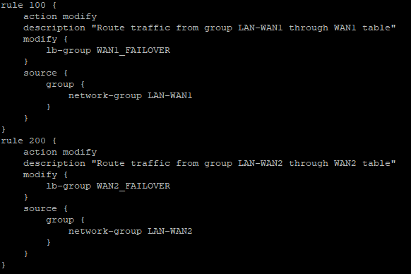 WAN Failover via Load-Balancing (Edgerouter Lite-3)